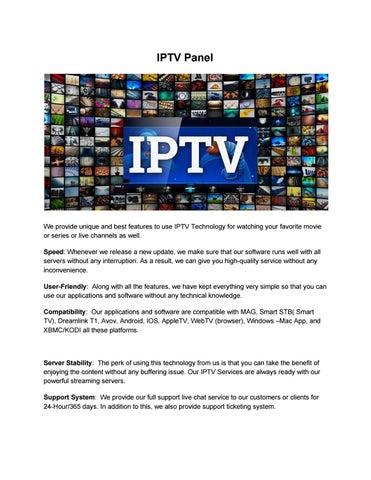 SECURE IPTV – Leading IPTV website by Secure IPTV - issuu