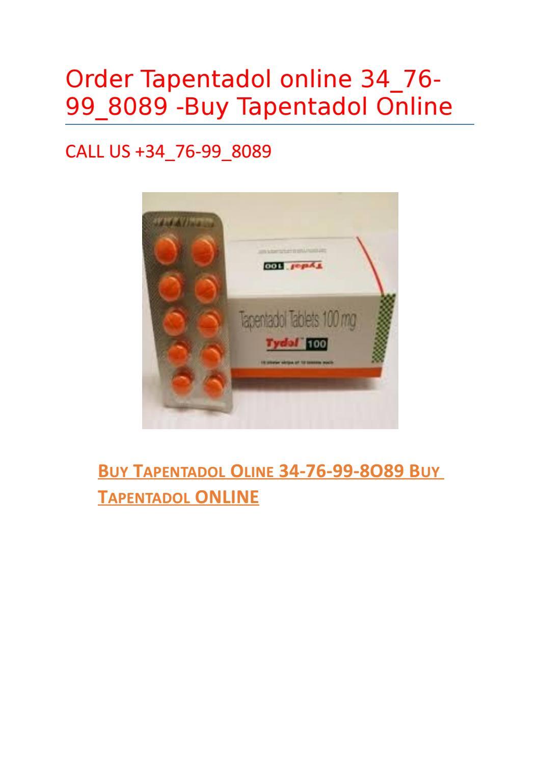 Buy tapentadol online — safe