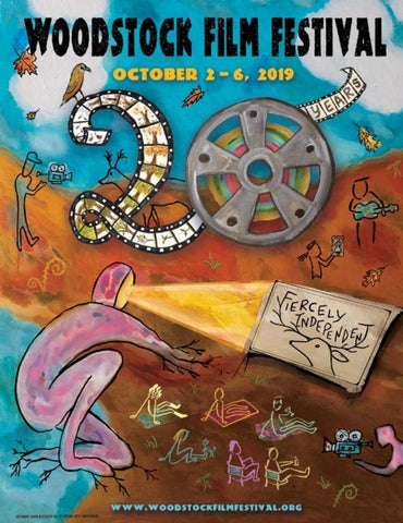 2019 Woodstock Film Festival Commemorative Program By