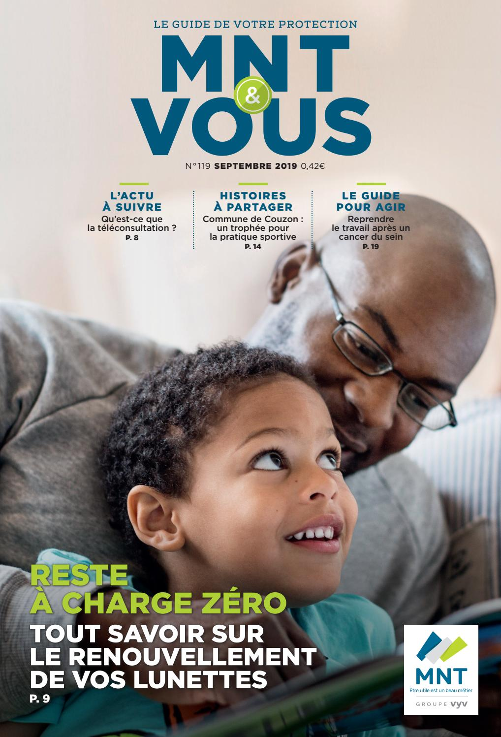 Magazine Mnt Vous N 119 Septembre 2019 By Mutuelle
