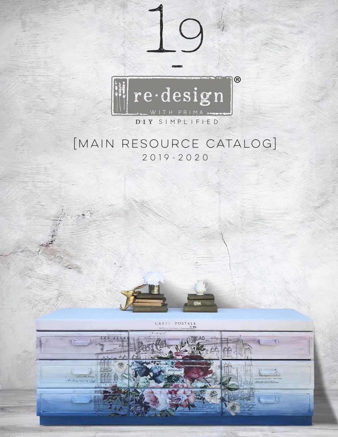 """Prima Re-design Decor Distressed Transfer-moment 11/""""x24/"""""""