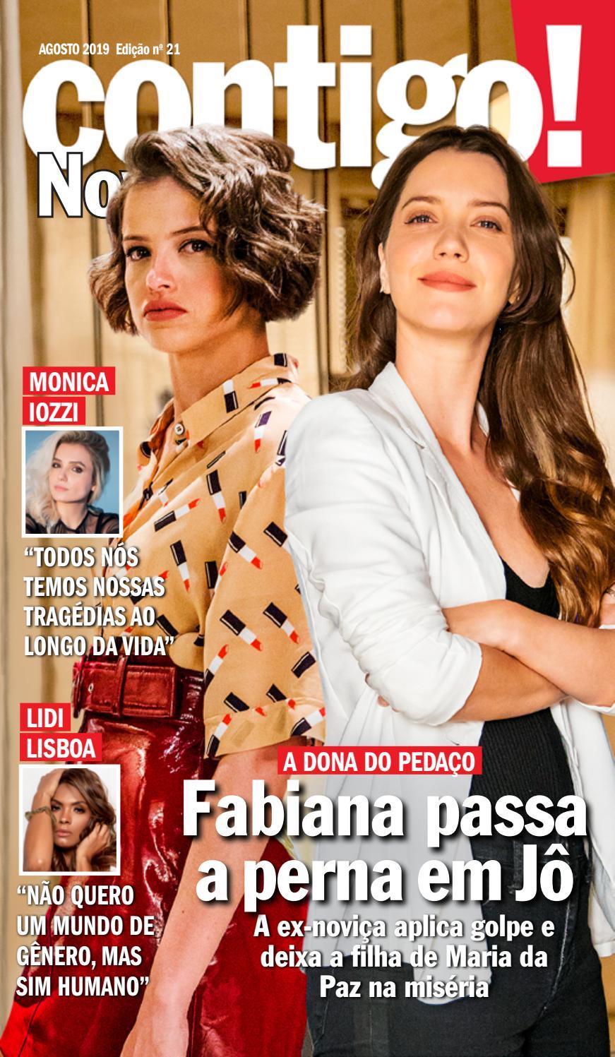 Atriz Lidi Lisboa contigo! novelas - edi��o 21caras brasil - issuu