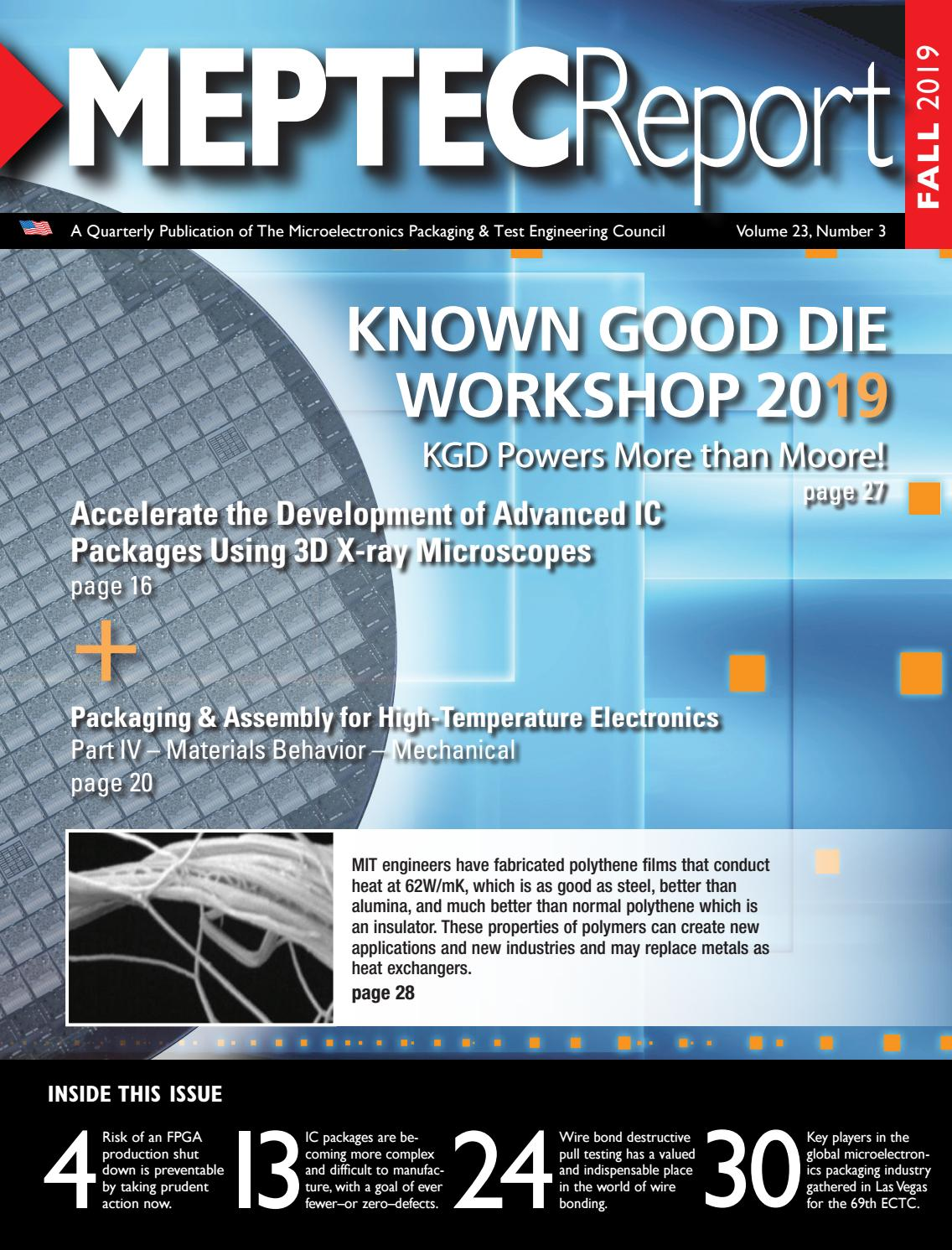 MEPTEC Report Fall 2019 Issue by MEPCOM LLCMEPTEC issuu