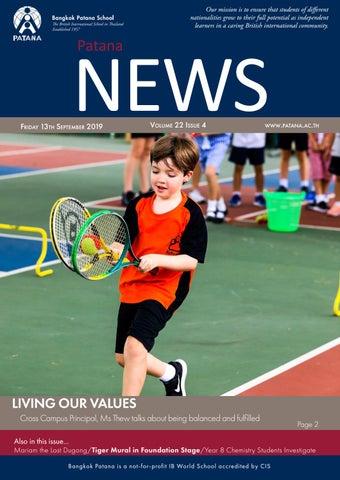 Patana News Volume 22 Issue 4 by Bangkok Patana School - issuu