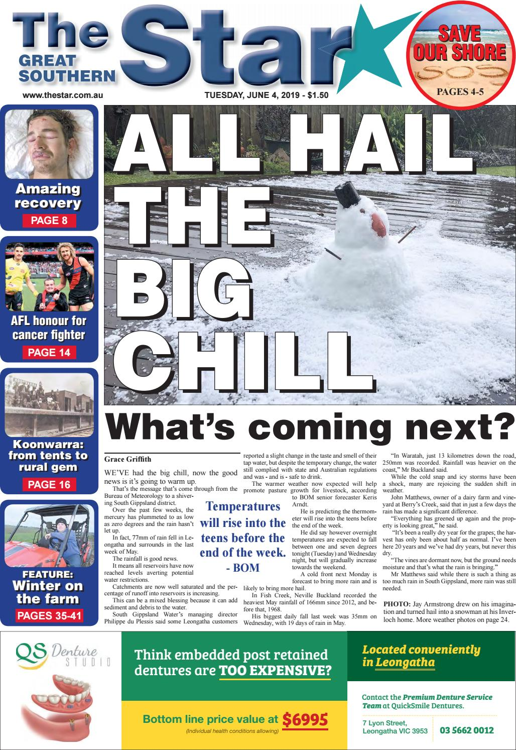 The Great Southern Star June 4, 2019 by The Great Southern