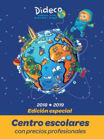 Catálogo Dideco 201819 Centros Escolares By Dideco Issuu