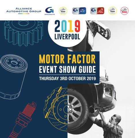 Liverpool 2019 - Motor Factor Show Guide by GROUPAUTO & UAN GARAGE  EQUIPMENT - issuu