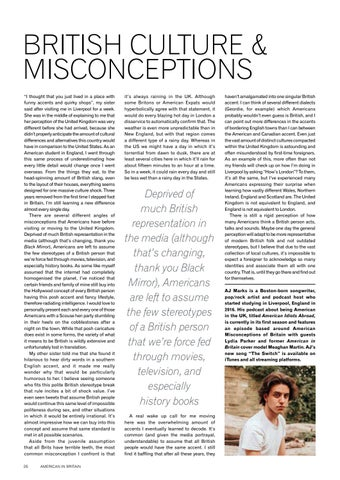 Page 28 of British Culture & Misconceptions