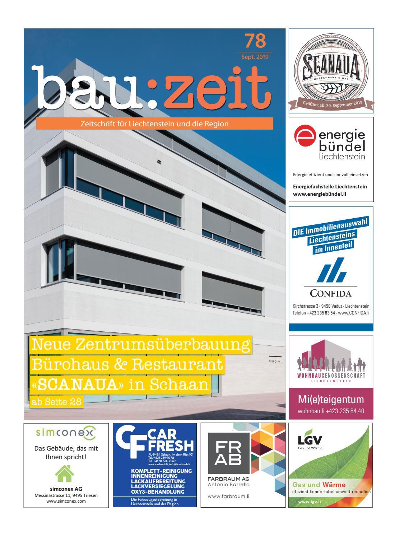 Bau Zeit Ausgabe 78 By Medienburo Oehri Kaiser Ag Issuu