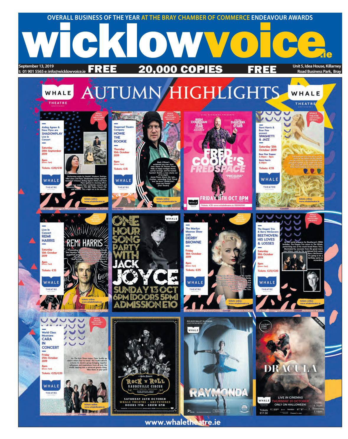 Wicklow Voice 13-09-2019 by Voice Media - issuu