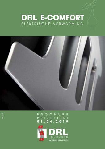 Page 1 of DRL E-Comfort Elektrische verwarming Brochure Prijslijst 01.04.2019