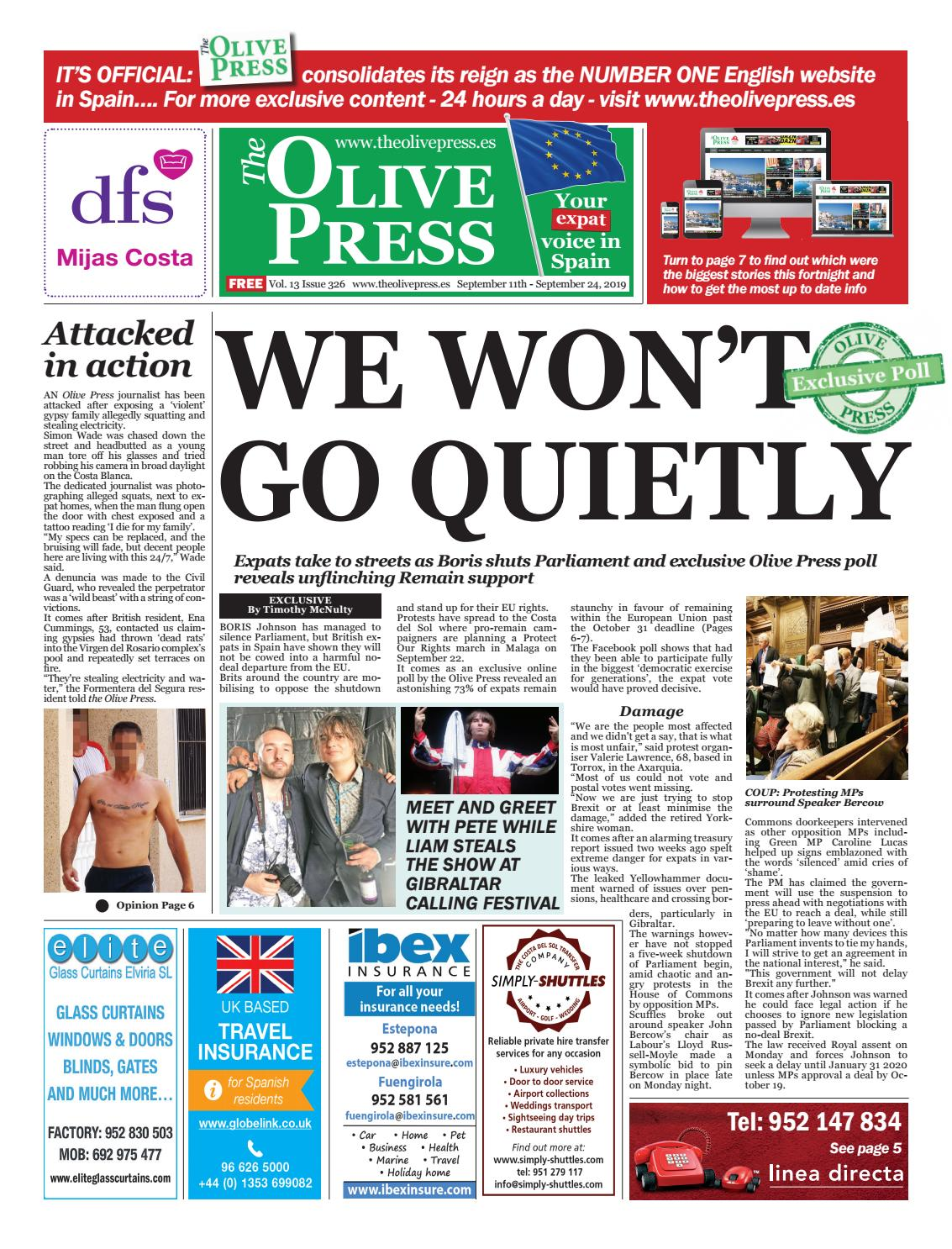 Olive Pres Newspaper Issue 326 By Spain Issuu Paraphrase Jacket Tk Maxx
