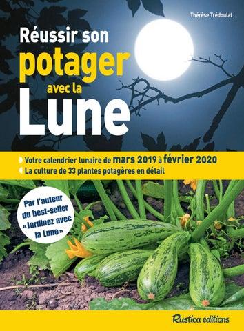Calendrier Lunaire Jardin Avril 2020.Reussir Son Potager Avec La Lune 2019 By Fleurus Editions