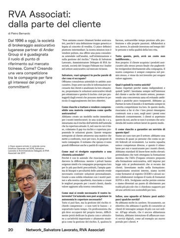 Page 40 of RVA Associati: dalla parte del cliente