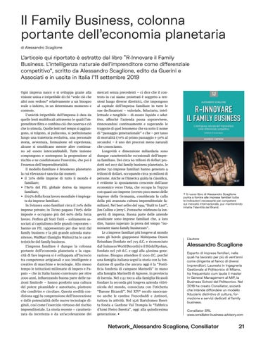 Page 41 of Il Family Business, colonna portante dell'economia planetaria