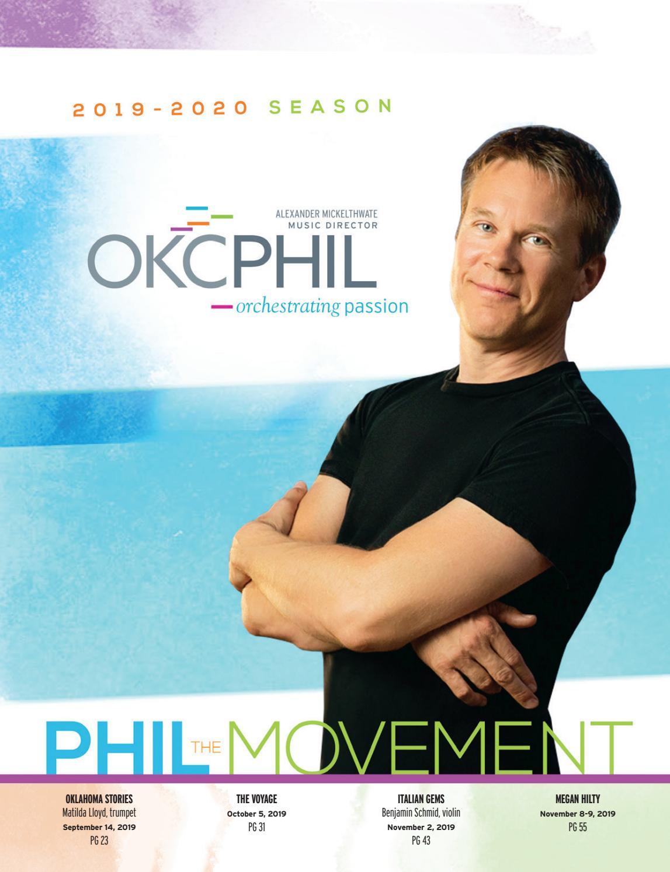 OKC PHIL program magazine 2019-2020 edition #1 by OKC Phil