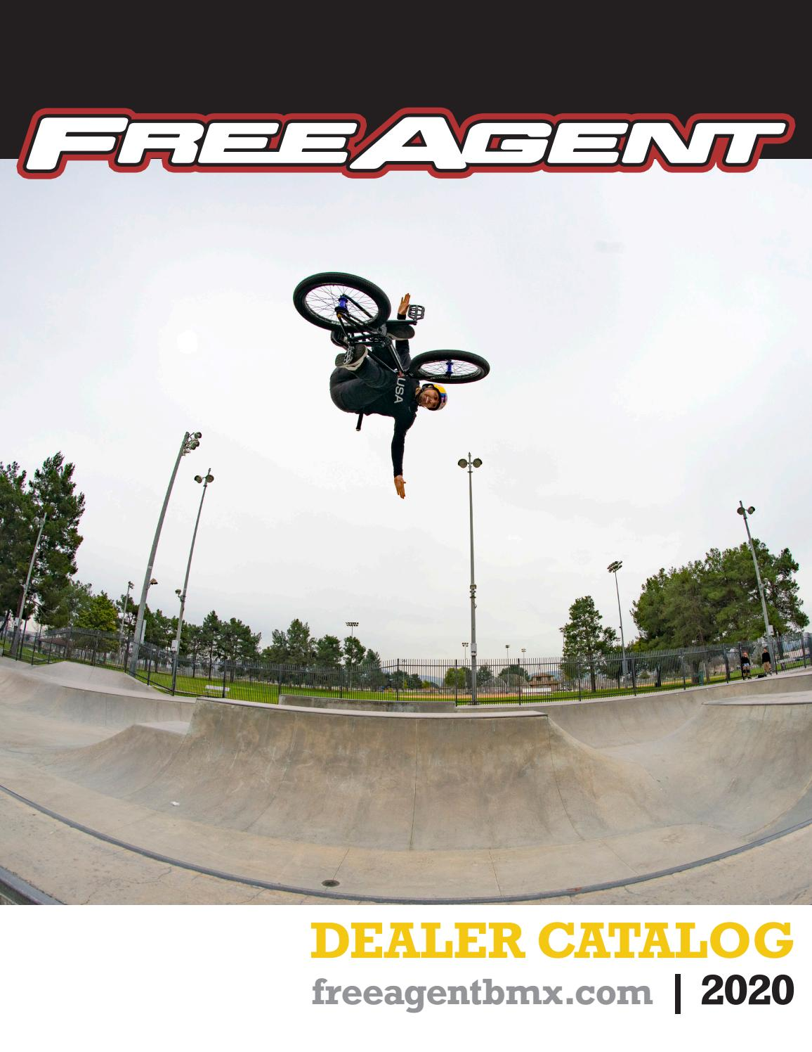 Free Agent Pivotal Street Bmx Saddle Black Bike