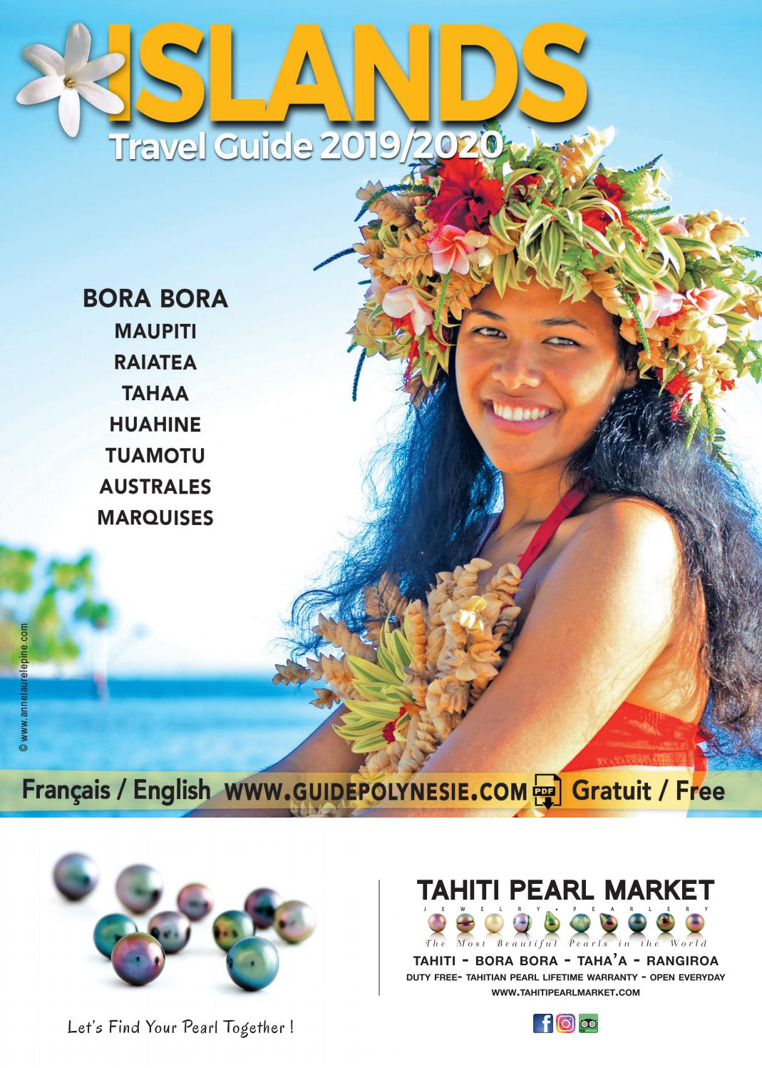 Islands Travel Guide 2019/2020 by BORA BORA SUN - issuu