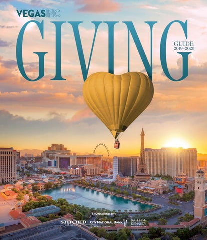 2019 09 19 VEGAS INC Giving Guide 2019 2020 by Greenspun