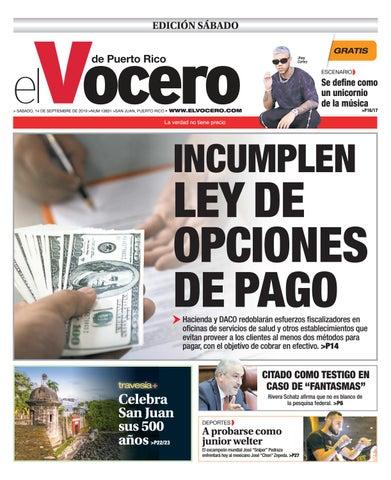 Edición: 14 de septiembre de 2019 by El Vocero de Puerto