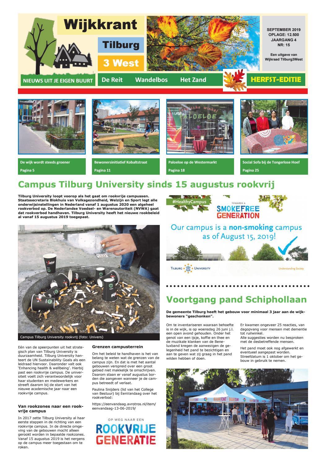 Wijkkrant najaar editie september 2019 by Wijkraad Tilburg 3