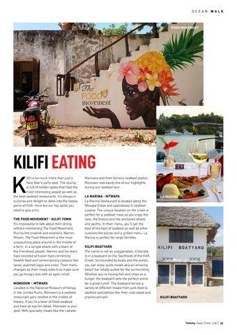 Page 23 of Kilifi Eating