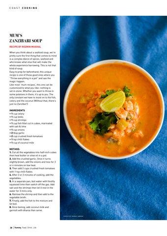 Page 38 of Mama's Zanzibari Soup