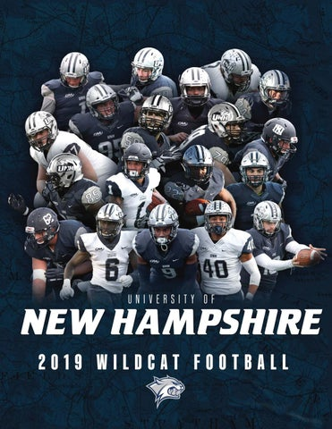 2019 Unh Football Yearbook By University Of New Hampshire Athletics Issuu