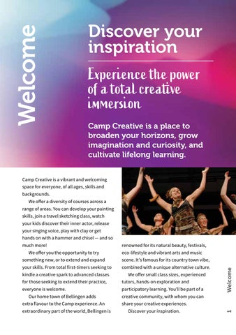 Page 3 of Discover Your Inspiration - Camp Creative 2020