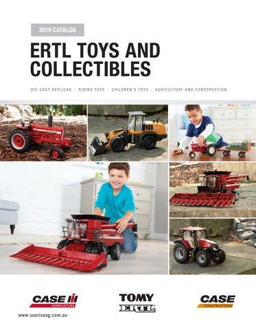 ERTL Case IH Steiger 580 1//32 Scale Die-Case Metal Replica Toy