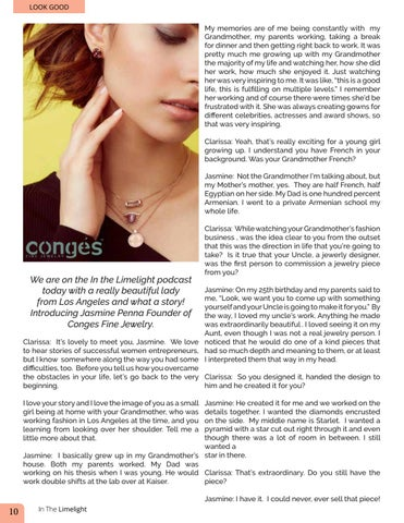 Page 10 of Founder Conges Fine Jewelry In the Limelight
