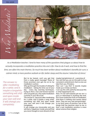 Page 34 of Meditation Coach Ali Dunne  - Why Meditate!
