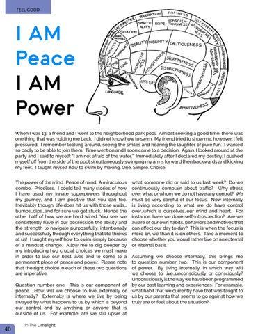 Page 40 of I Am Peace I Am Power