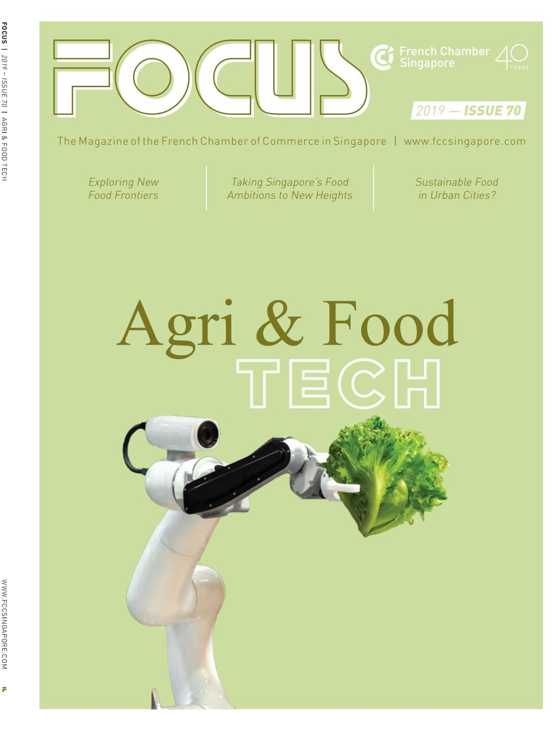 Focus Magazine Agri Food Tech By The French Chamber Of