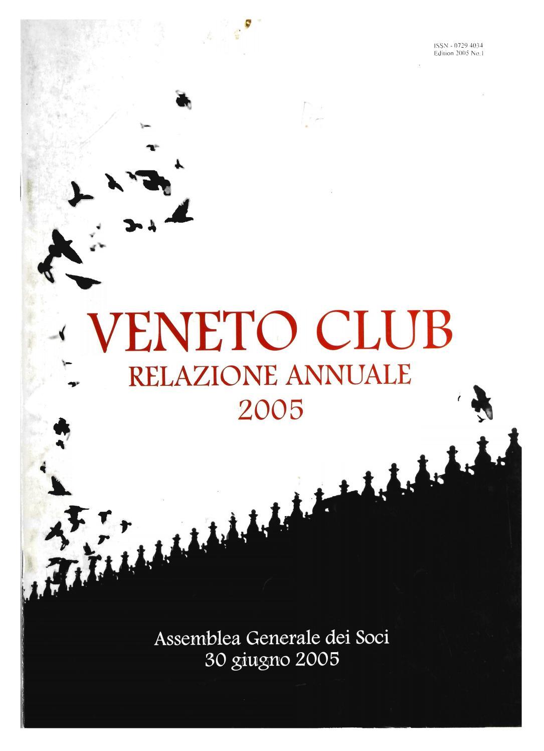Relazione Annuale 2005 By Favvictoria Issuu