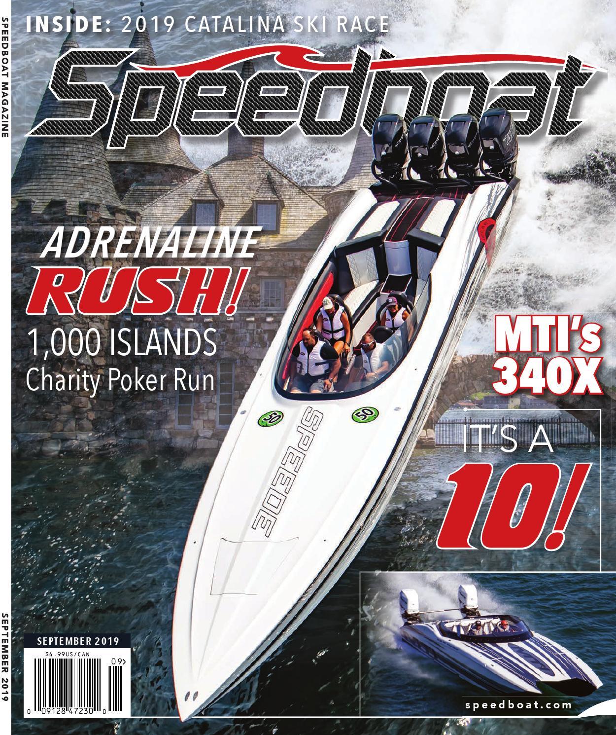 Speedboat September 2019 By Brett Bayne Issuu