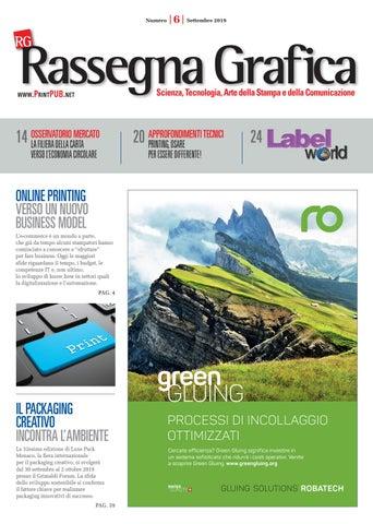 Rassegna Grafica N 6 Settembre 2019 By Innovative Press