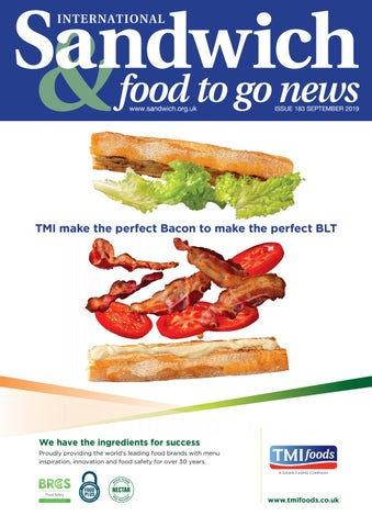 Sandwich Food To Go News Issue 183 By Jandmgroup Issuu