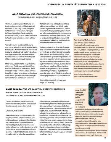 Page 41 of Anup Takarautio: Oraakkeli - Sisäinen Jumaluus