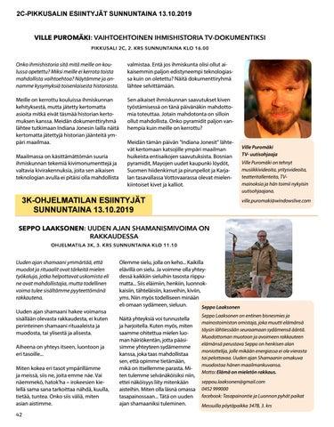 Page 42 of Seppo Laaksonen: Uuden ajan shamanismivoima on rakkaudessa