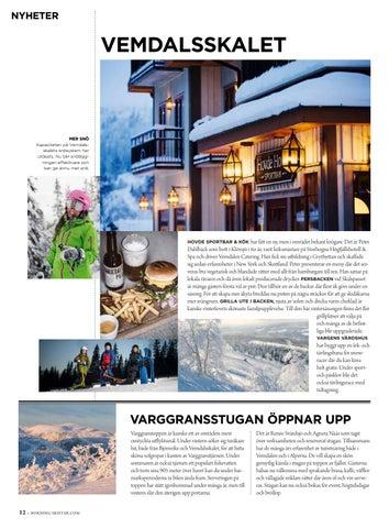 Page 12 of Nyheter på Vemdalsskalet