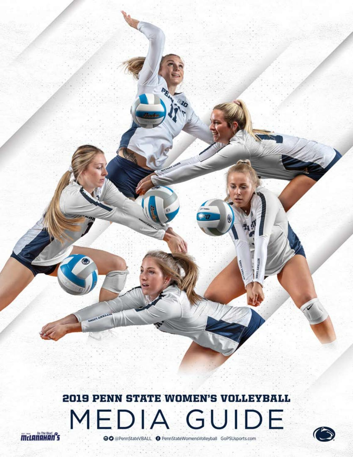 2019 Penn State Women S Volleyball Media Guide By Penn State Athletics Issuu