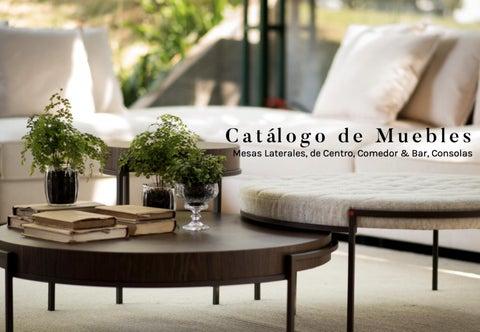 Catálogo de Muebles - Mesas Laterales, de Centro, Comedor ...