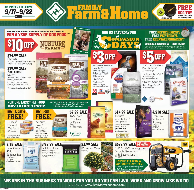 Family Farm Home 19set4 Ad Effective September 17 22