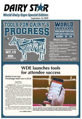 2019 World Dairy Expo Tab by Dairy Star issuu