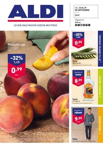 by Supermercados issuu rojo Catálogo Ofertas Aldi melocoton vnmON80w