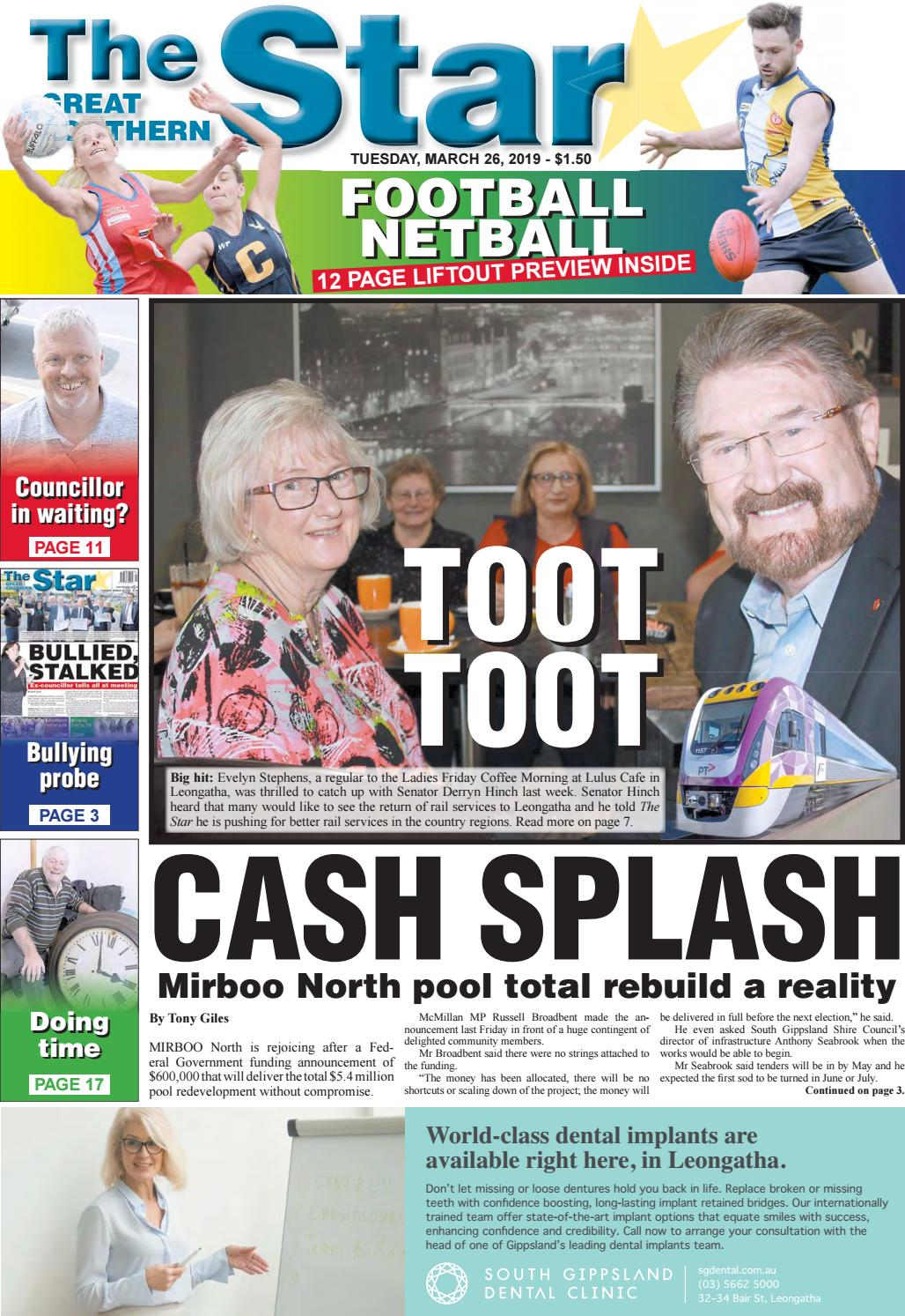 The Great Southern Star March 26 2019 by The Great