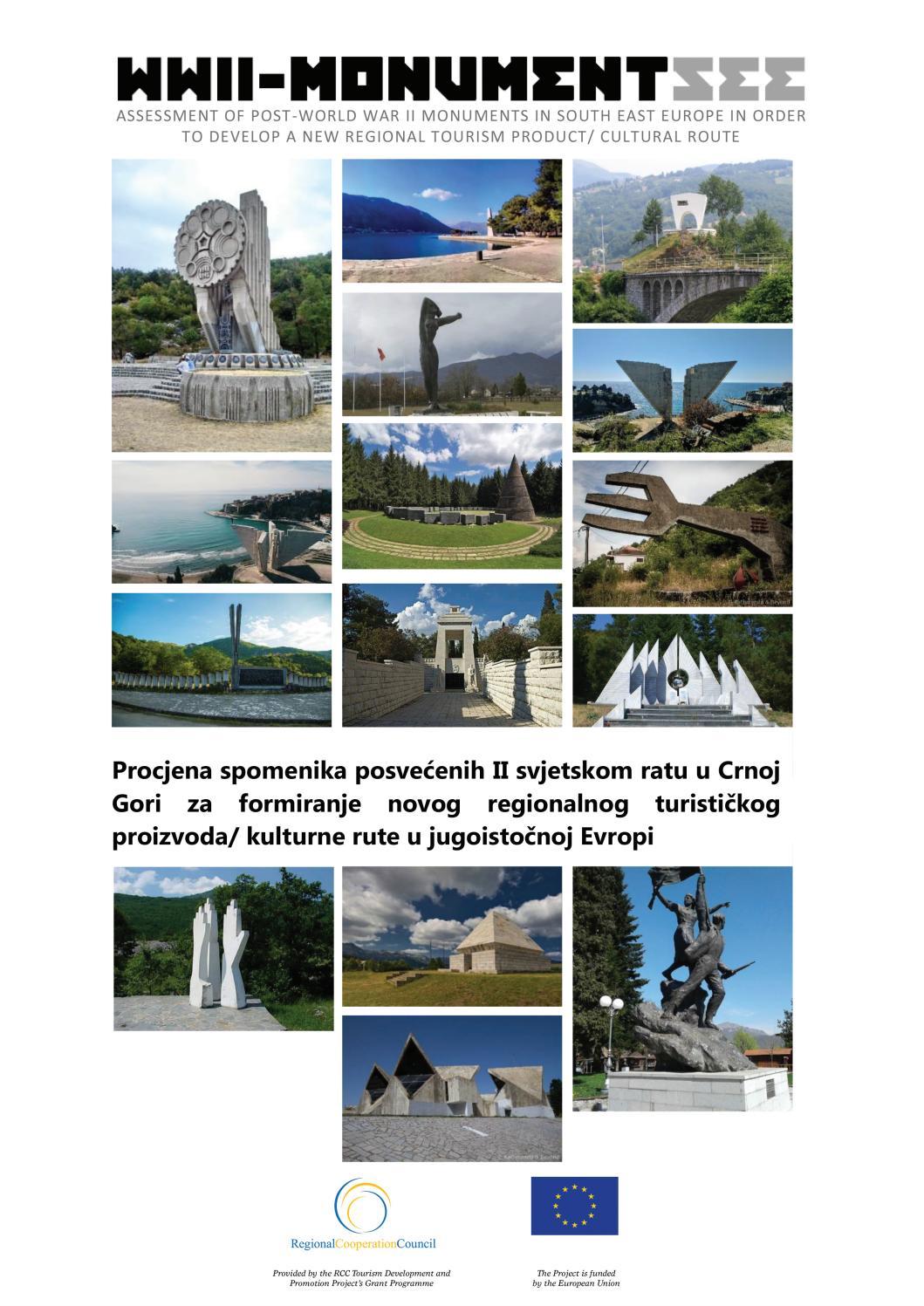 Procjena Spomenika Posvecenih Ii Svjetskom Ratu U Crnoj Gori By