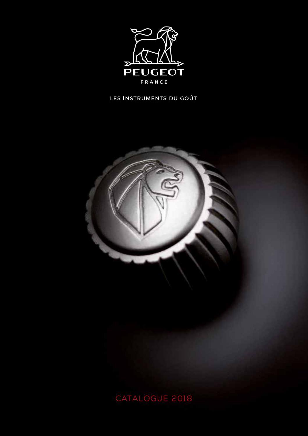 Peugeot Oléron Chili Moulin Acrylique De Hêtre Chocolat 14 cm 28428