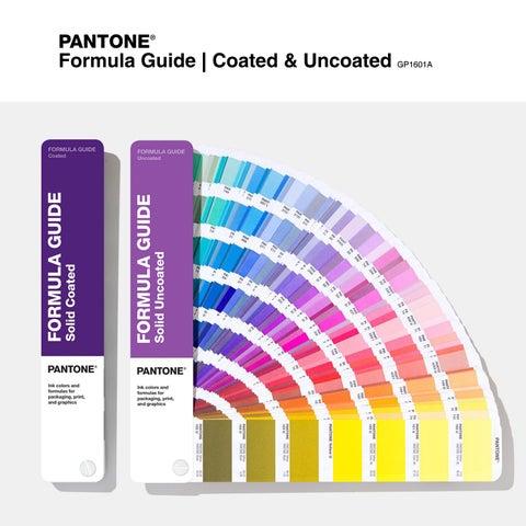 Pantone Formula Guide Coated Uncoated Gp1601a By Sudarshanbooks Com Issuu
